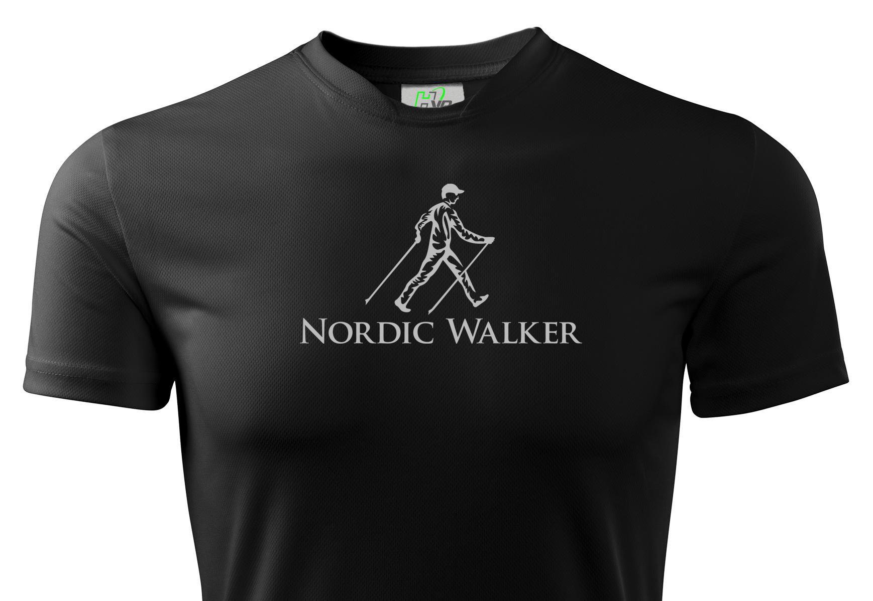 Nordic Walker Thermal HVR Reflexné tričko