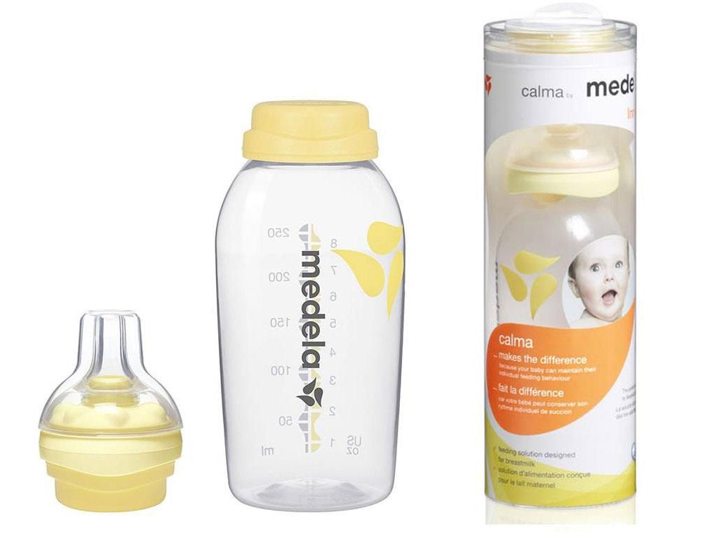 Medela Calma v súbore s fľašou s koncepciou. 250 ml