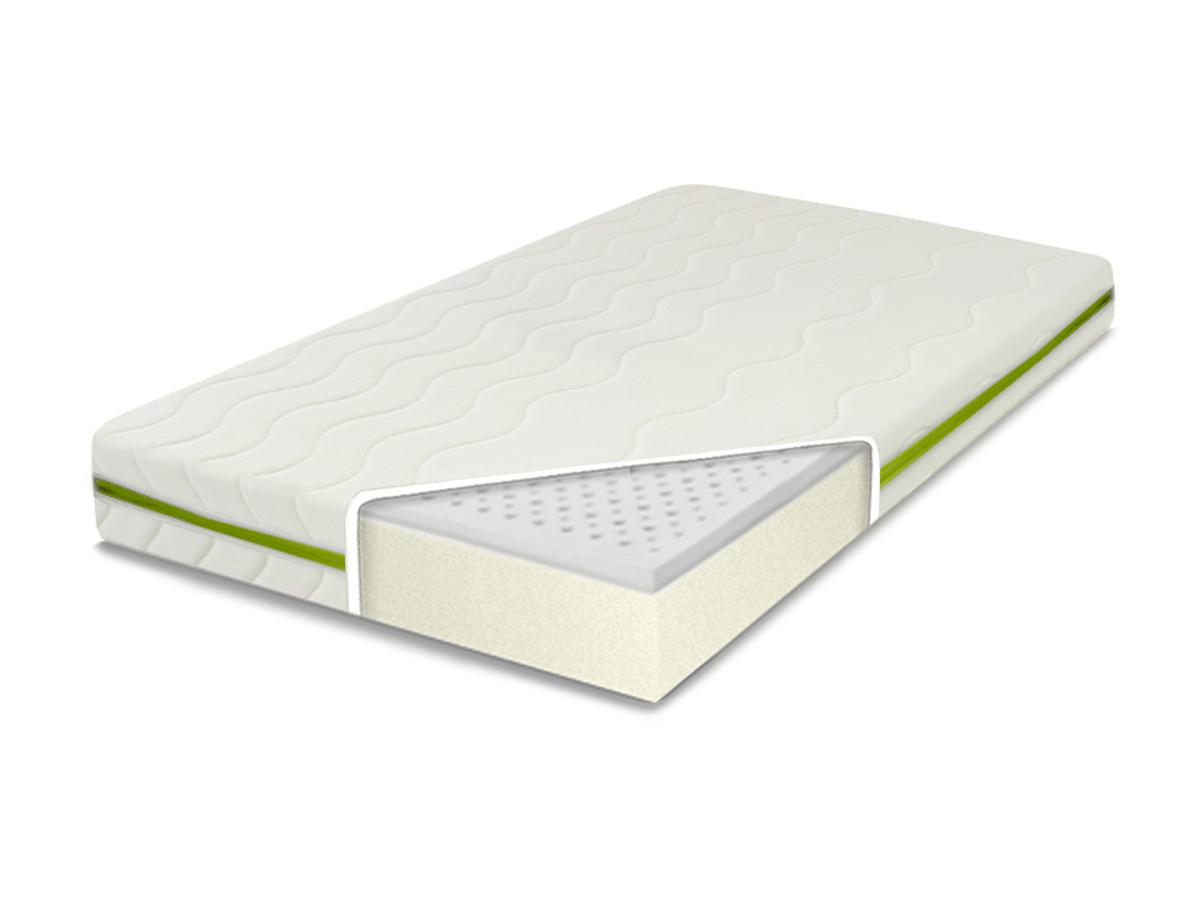 MATERAC LATEKSOWY do łóżeczka 120X60X10 kolory