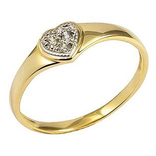 Złoty Pierścionek Zaręczynowy 585/14k Cyrkonie R16