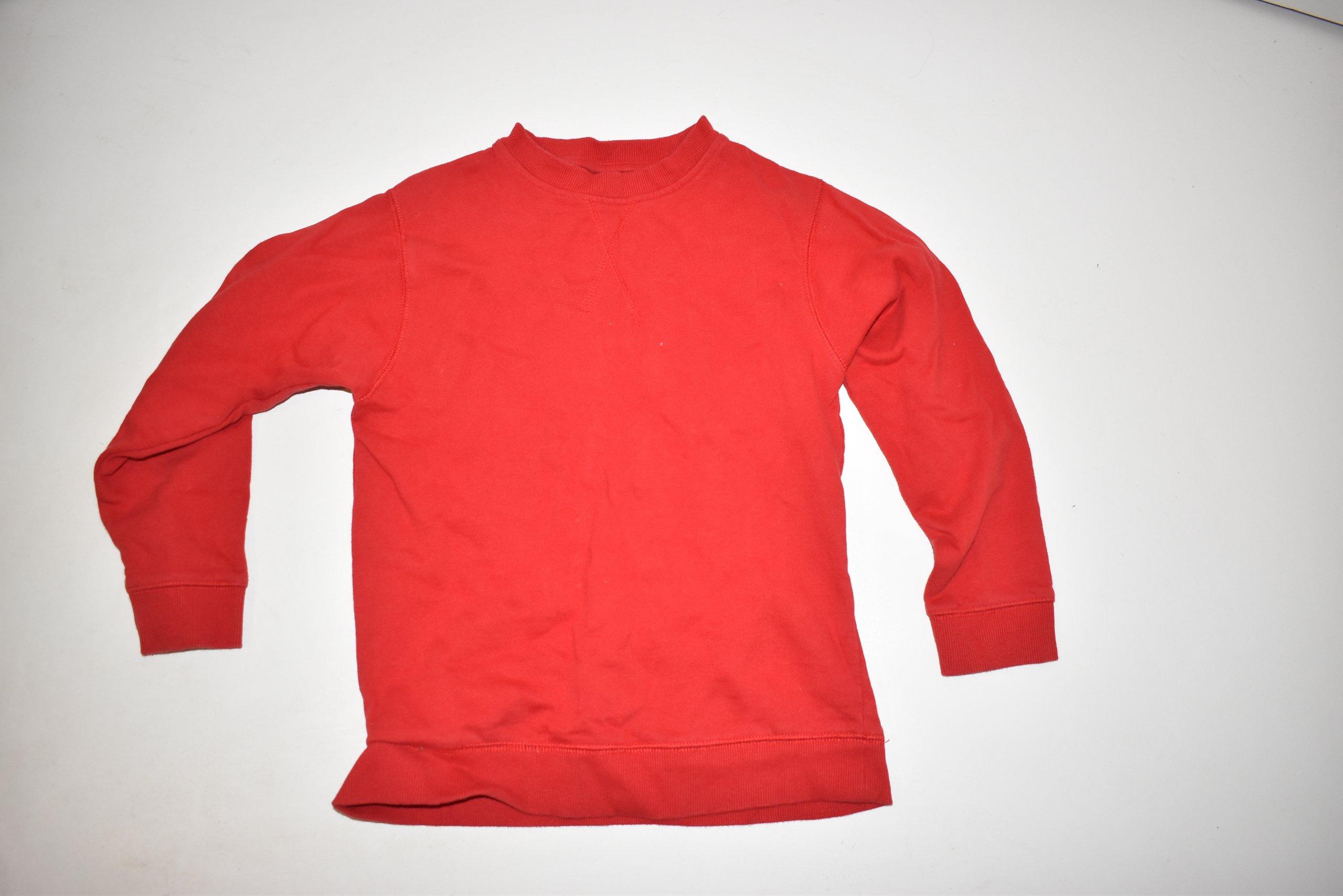 bluza czerwona pepco