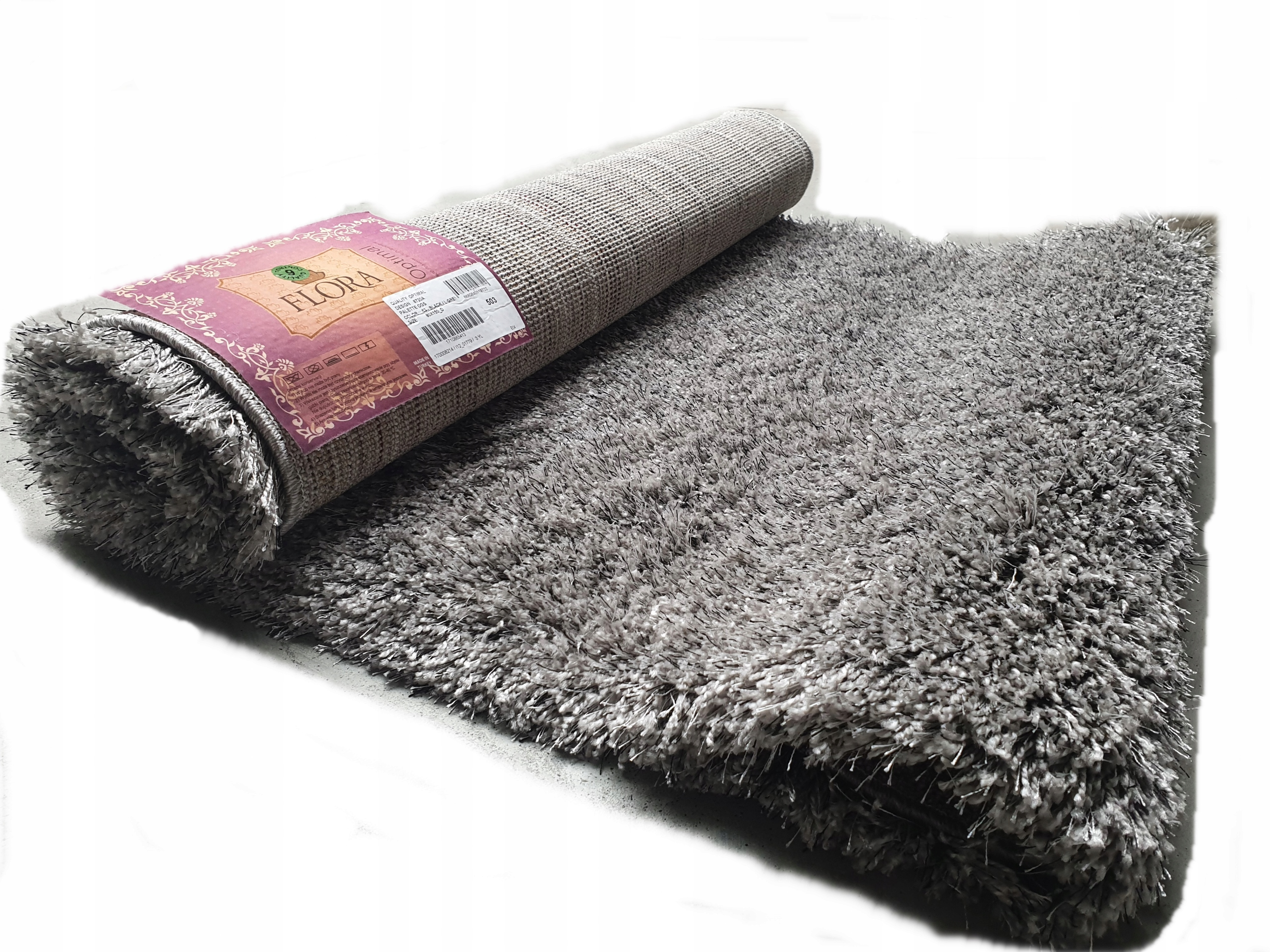 Koberce Izbov Karpet 250x350 Bcf Super Quality 10 Farieb Shaggy 200x300 Flry Polyester Empty