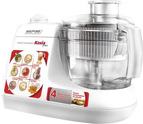 Robot kuchenny wielofunkcyjny MPM Kasia + MRK-11 Kolor dominujący biały