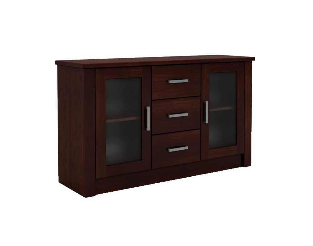 DSI-nábytok: drevené Hrudníka FADO 2D/3C s skla