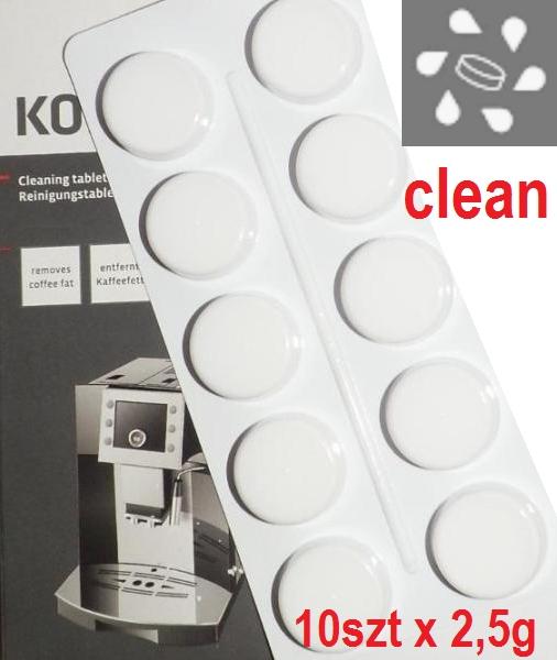 Купить 10х25 г таблетки для очистки DELONGHI NESPRESSO на Eurozakup - цены и фото - доставка из Польши и стран Европы в Украину.