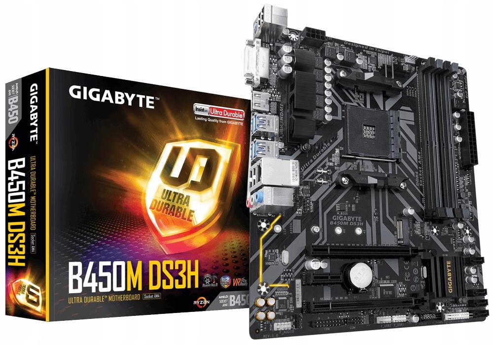Plyta Glowna Gigabyte Pod Ryzen Chipset B450 Am4 Czesci Komputerowe Plyty Glowne Allegro Pl