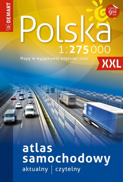 Item Poland Atlas car 1:275 000 LTL MAP EUROPA17/18