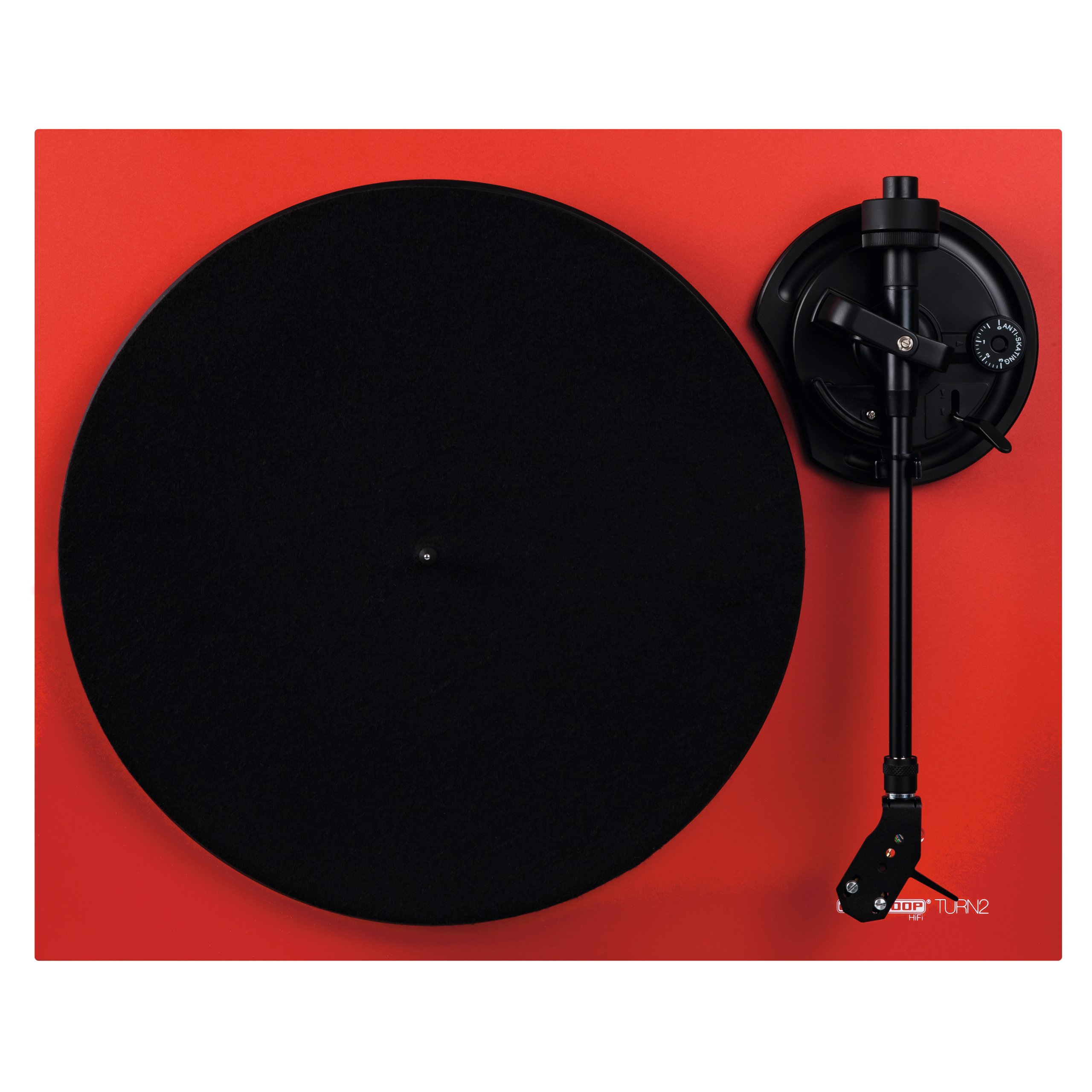Item Reloop TURN 2 RED Turntable + Ortofon M10 insert