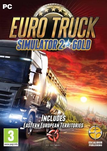 EURO Truck SIMULATOR 2  GOLD ЗОЛОТА издание STEAM-20
