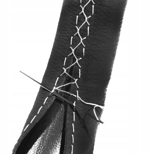 Ремешок из кожи с ручкой из кожи на тележке