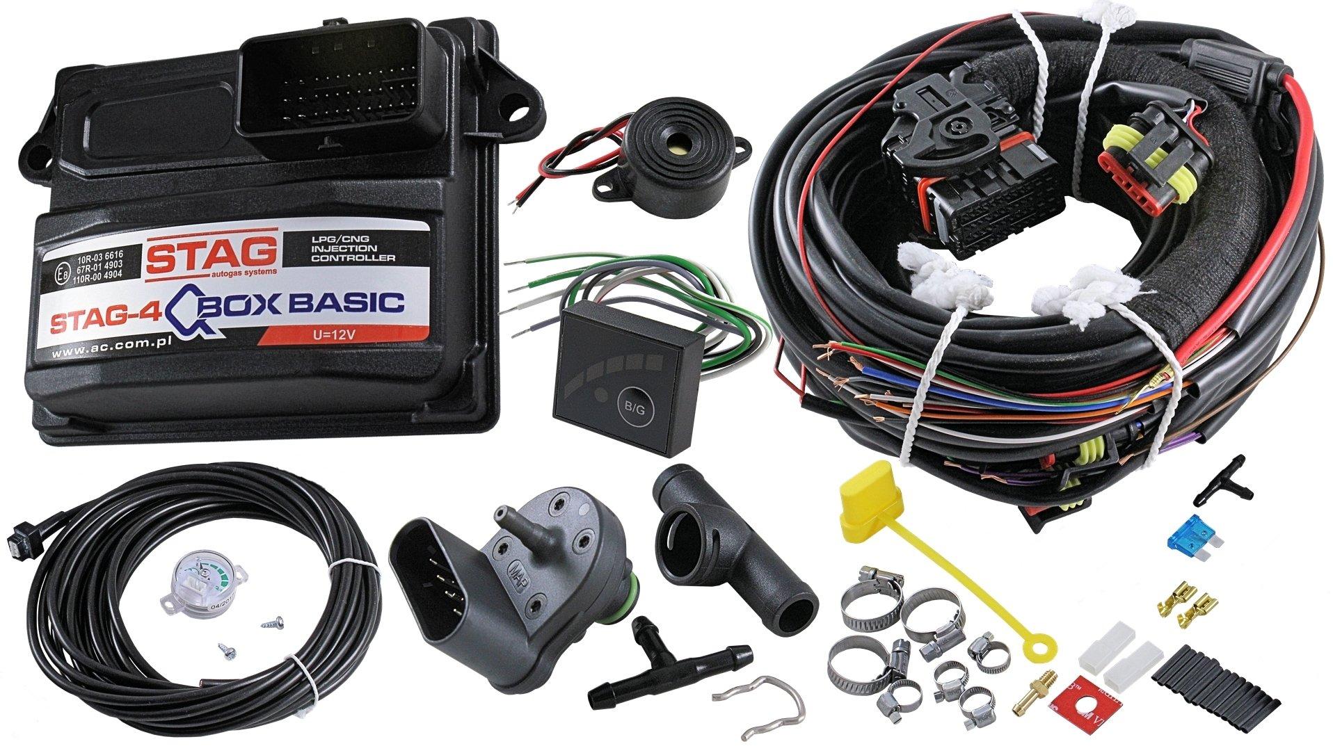 ac stag-4 q-box basic электроника 4 цил варшава