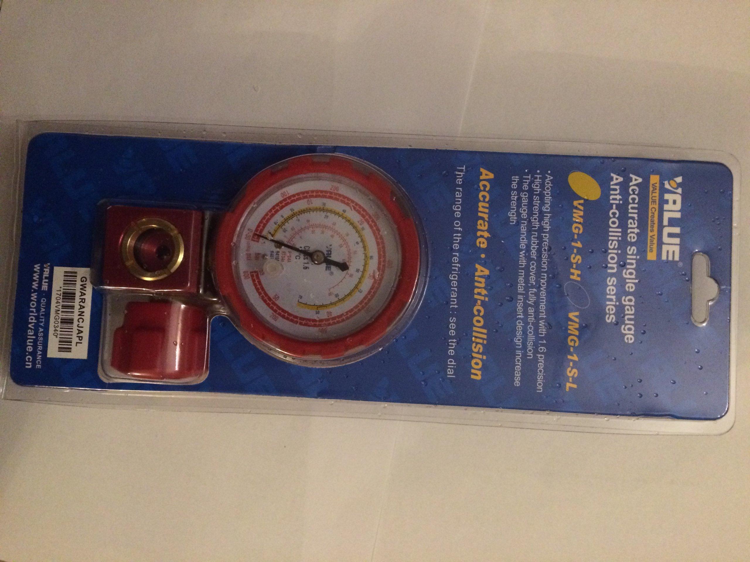Vysokotlakový manometer