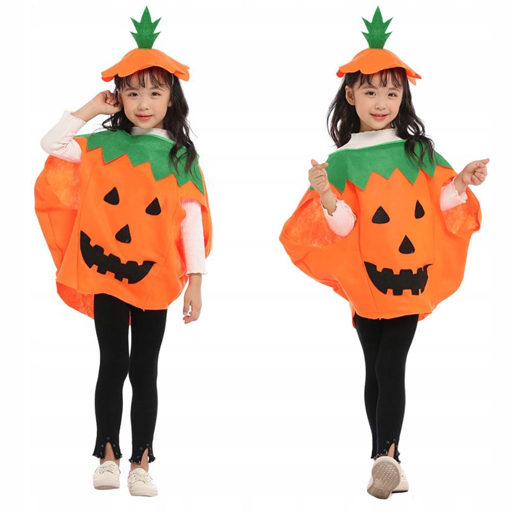 Kostium Dynia Stroj Dla Dzieci Witamina Halloween 8504950684 Allegro Pl