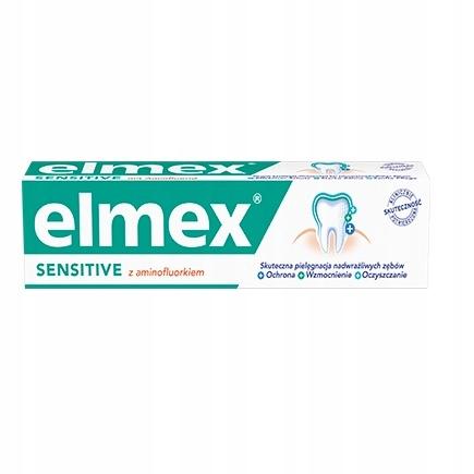 ELMEX Sensitive pasta do zębów z aminofluorkiem