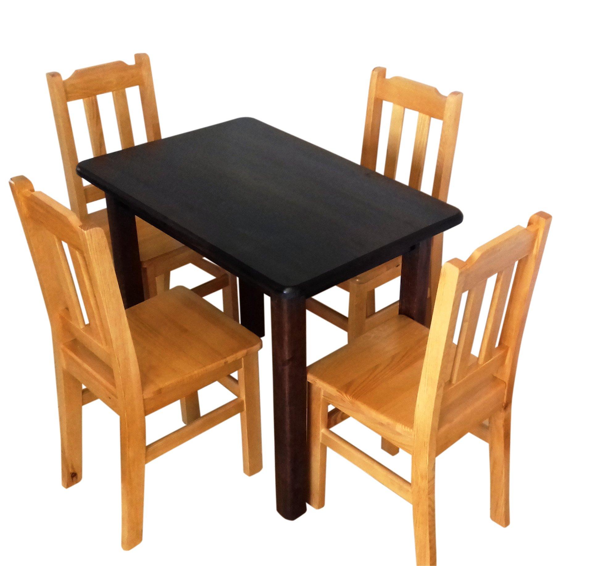 Pevné, robustné tabuľka 100x60 kuchyne FARBA DOPRAVA zadarmo