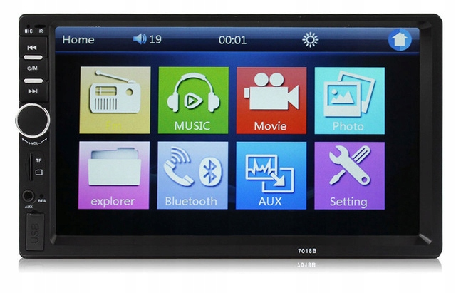 RADIO SAMOCHODOWE 2DIN 7 cali USB/SD/BLUETOOTH/AUX