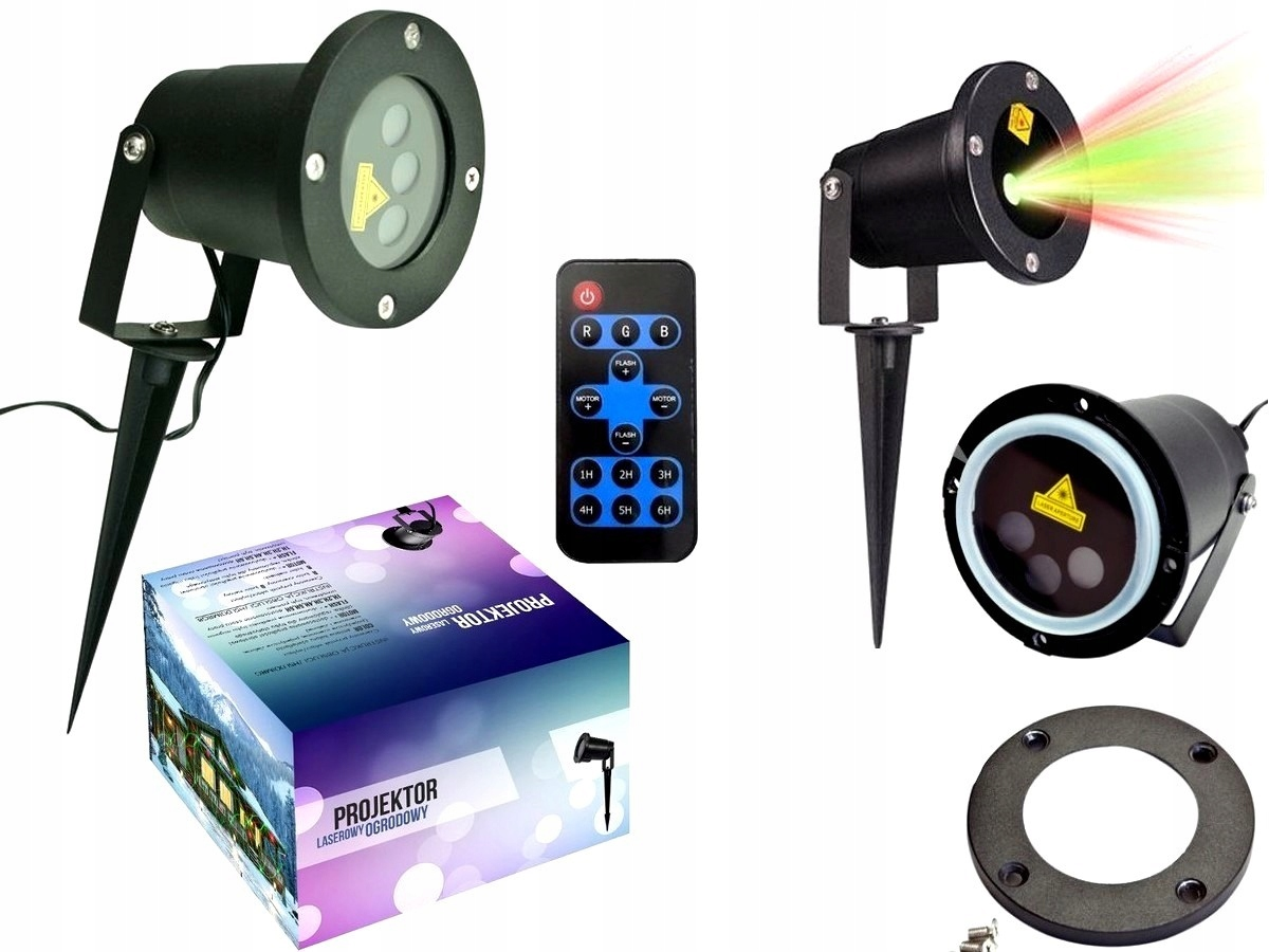 Star Shower Projektor Laserowy Laser Ogrodowy 24w1 7668121769 Allegro Pl