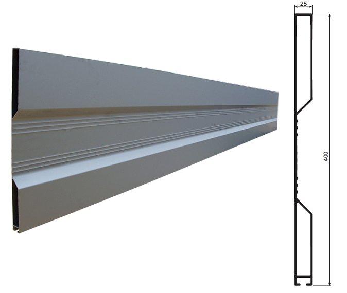БОРТА алюминиевые H400 профиль планшетный -transport RU изображение 2