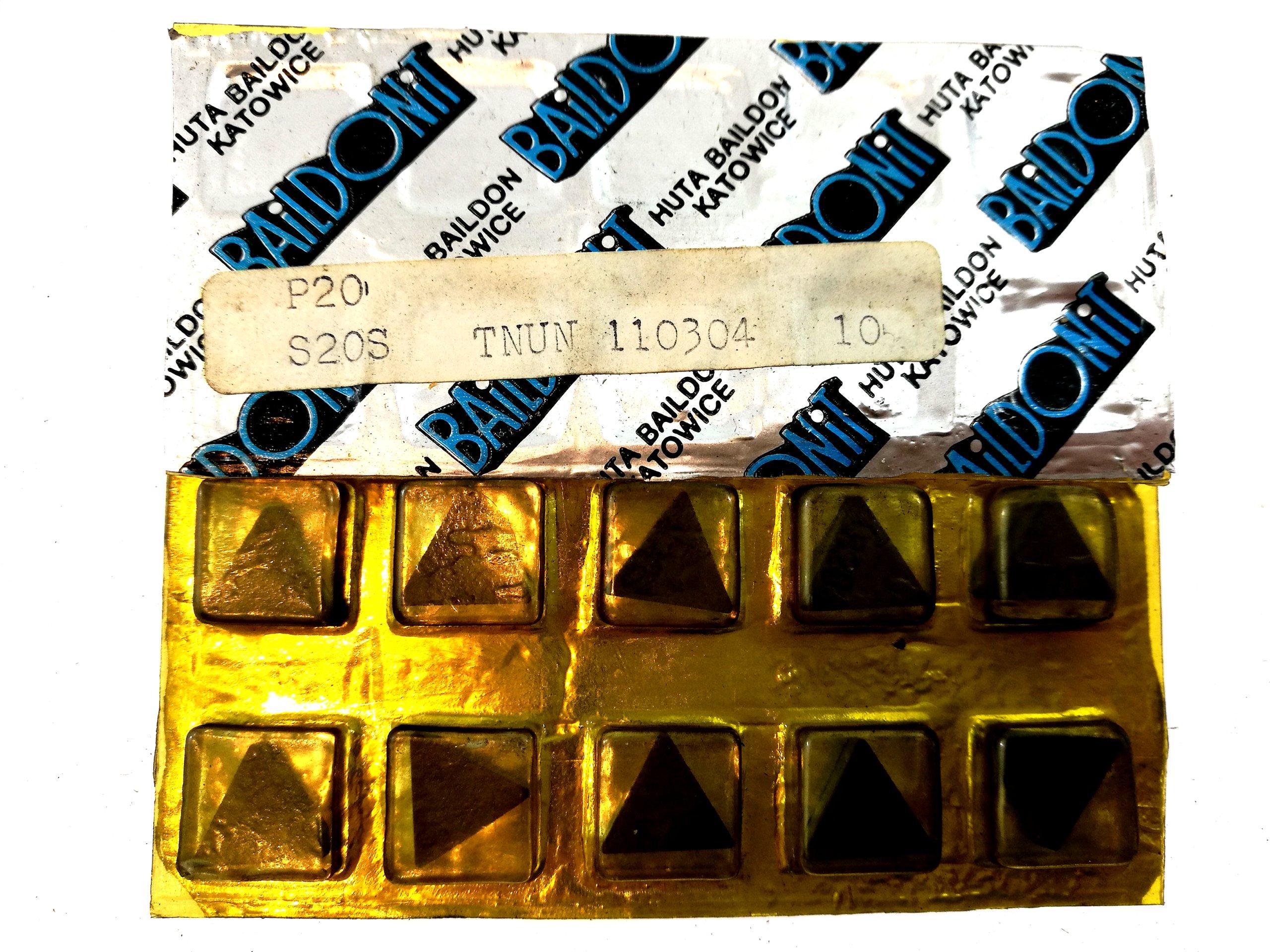 TNUN Tabuľka 110304 S20S pre oceľ 11 03 04