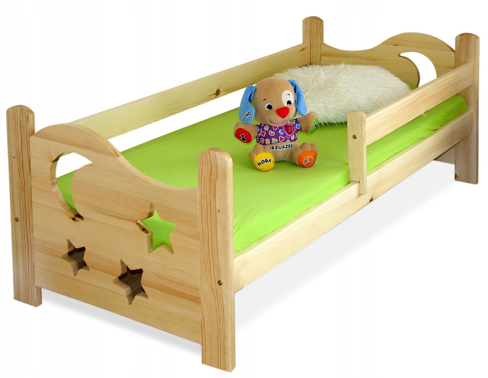 Deti, prístelky 80x160 EGOR borovica posteľ