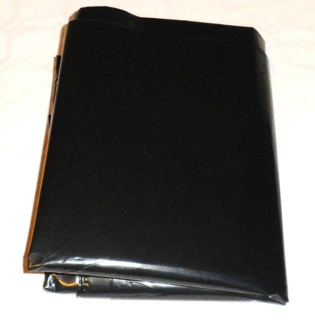 Worki foliowe czarne 300L b grube duże na śmieci