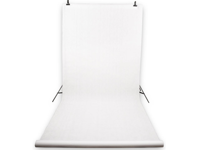 Item KIT FOR HANGING BACKDROP +PHOTO BACKGROUND WHITE 5x1,6m