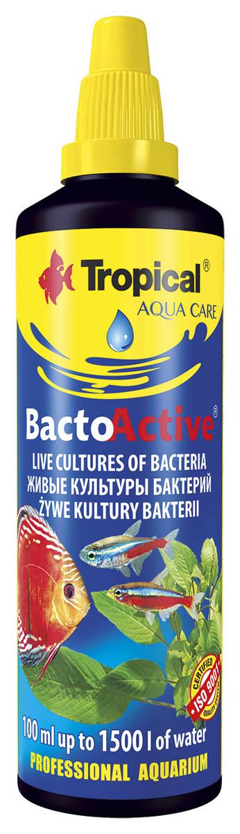 TROPICAL BACTO-ACTIVE 100ml BIOSTARTER BAKTERIE
