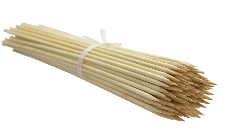 Kolíky bambusu 80 cm 6 mm /2000pcs/ b.lupan
