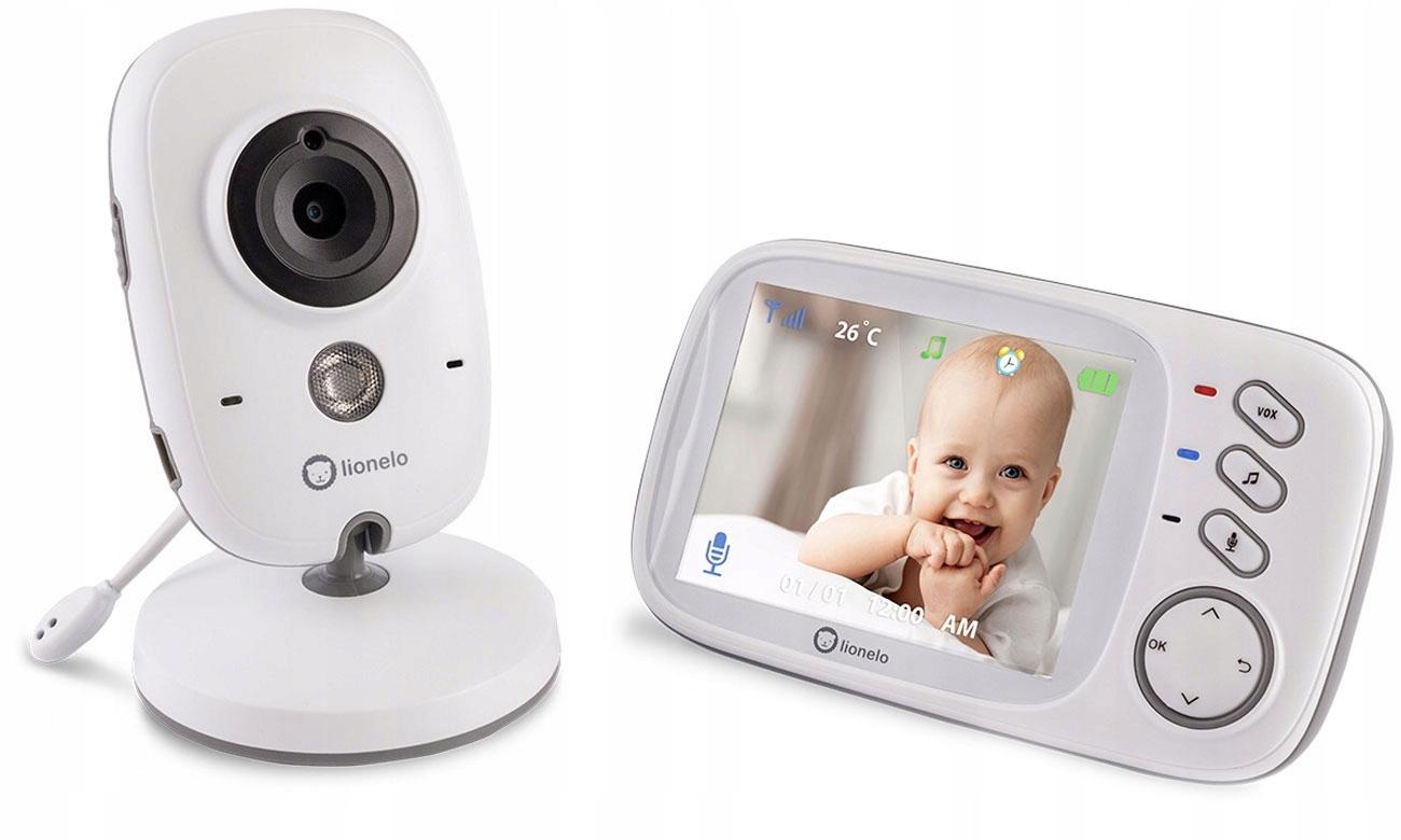 Niania Elektroniczna Lionelo Babyline 6.1 Kamera