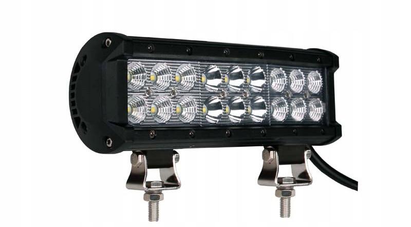 панель led лампа рабочая 36w 18x led osram 23cm