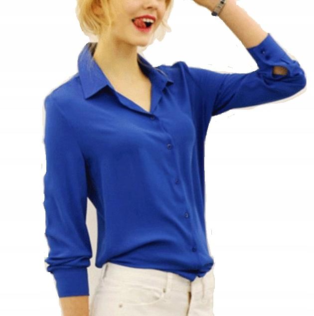 Tw Zwiewna Bluzka Koszula Szyfonowa Kolory 42 XL