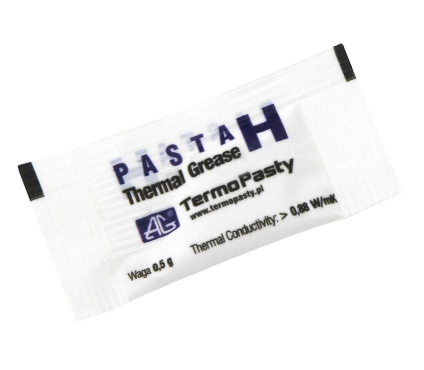 Паста силиконовая H теплообмена 0,5 г пакетик