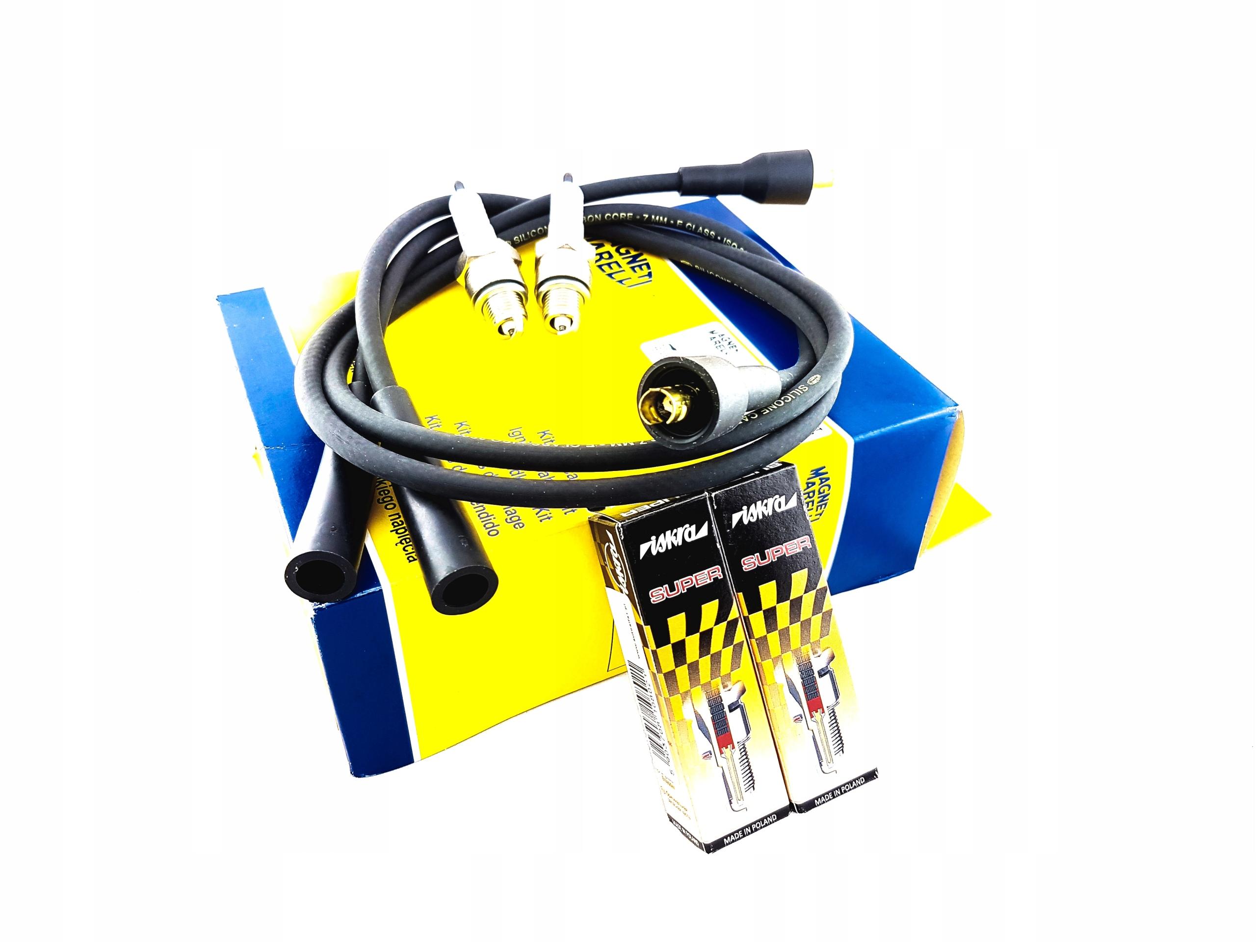 провода кабели Свечи зажигания fiat 126p fl компл