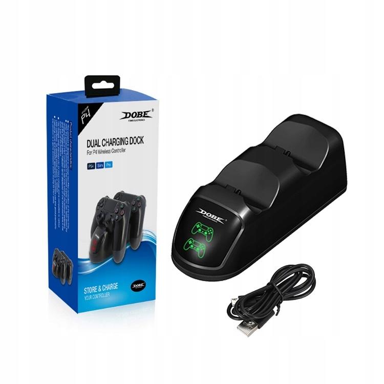 Купить Зарядное устройство на 2-Пэды PlayStation 4 PS4 SLIM PRO LED на Otpravka - цены и фото - доставка из Польши и стран Европы в Украину.