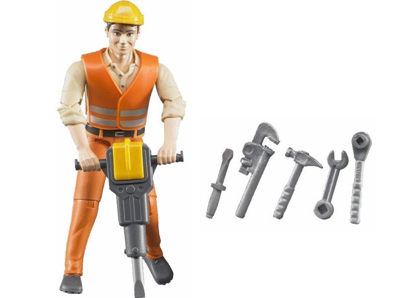 Bruder 60020 Figurín pracovníka s príslušenstvom