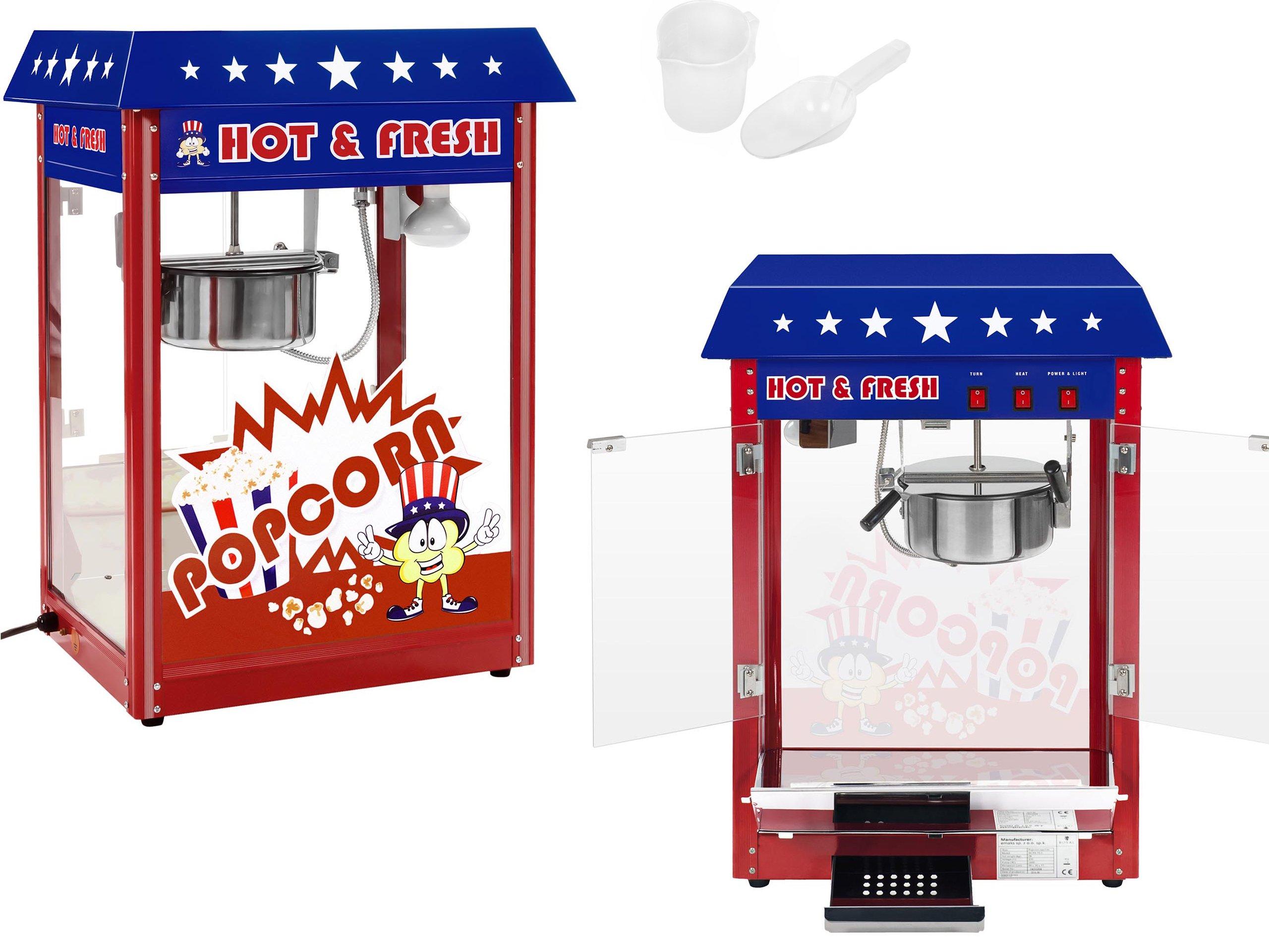 Americký štýl 1600W Popcorn Machine