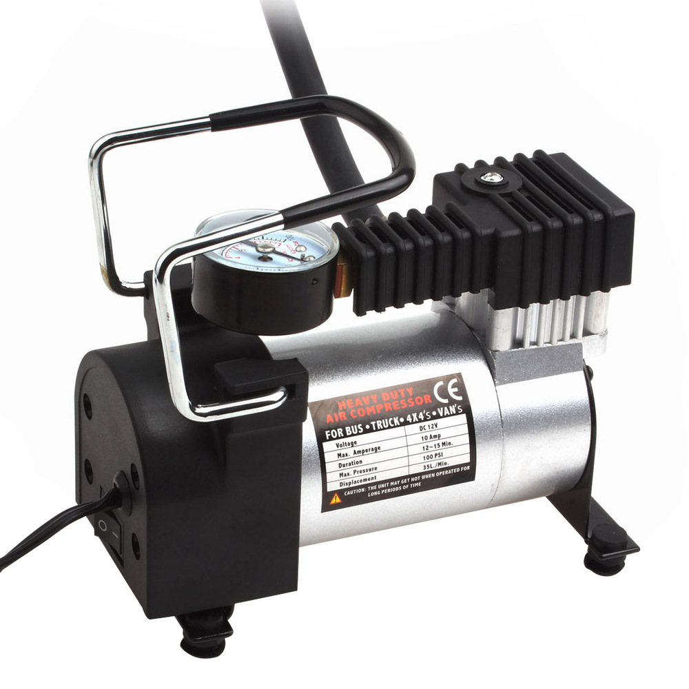 Item POWERFUL CAR AIR COMPRESSOR FOR WHEELS 12V 140 PSI