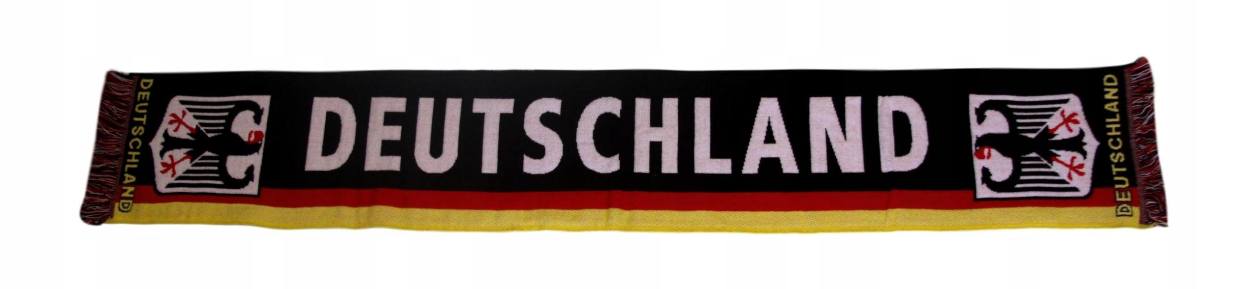 Nemecko šatka tkaná pre fanúšik