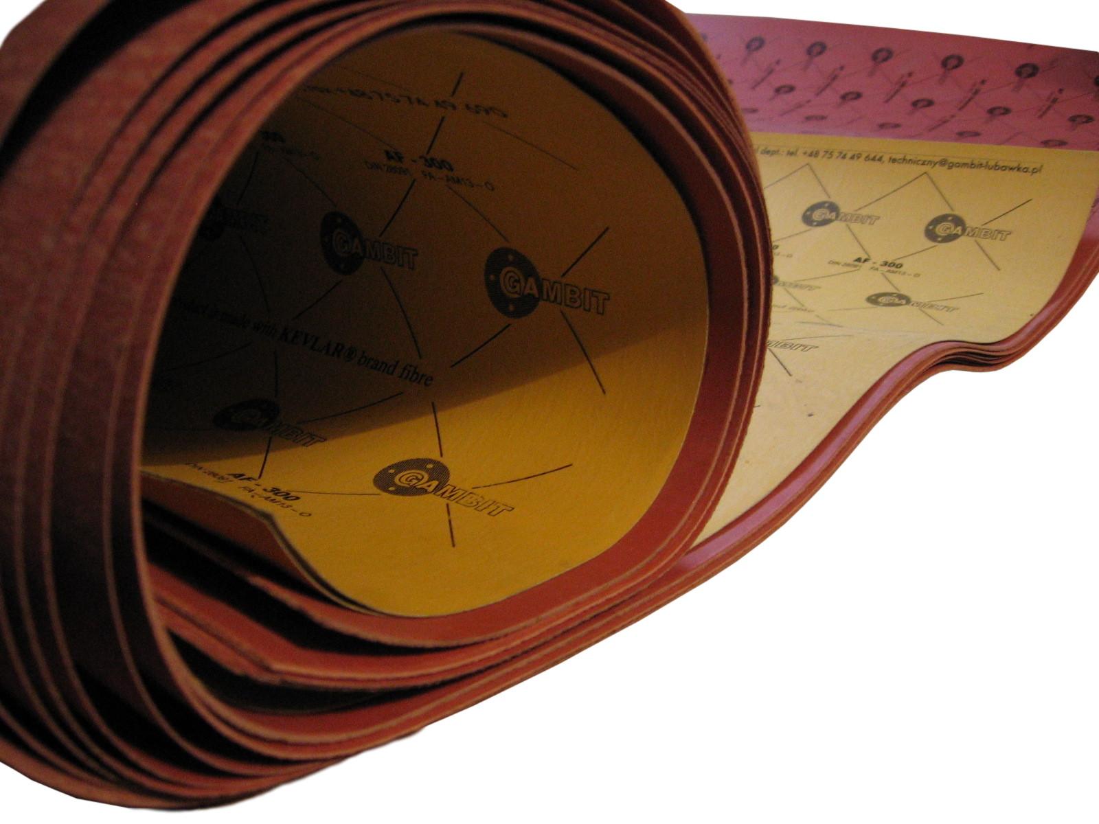 Материал на прокладки 0, 5x500x500mm gambit качество!, фото 7
