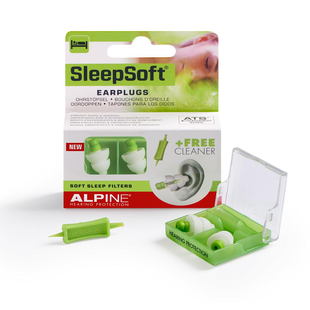 Item Alpine SleepSoft earplugs