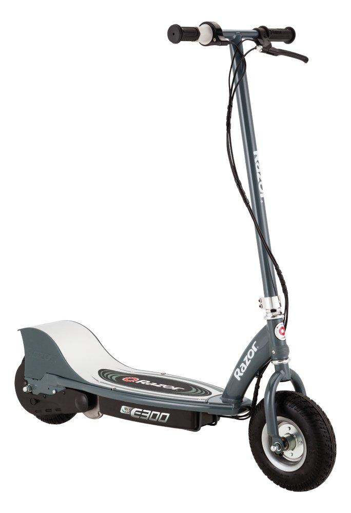 Britka E300 elektrický skúter sivá 24km/h