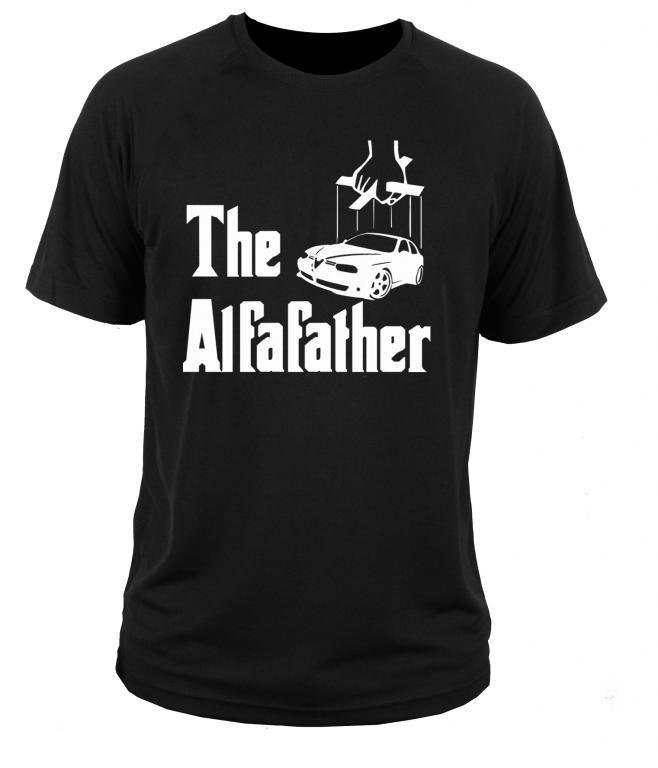 футболка t-shirt Alfa Romeo 156 М