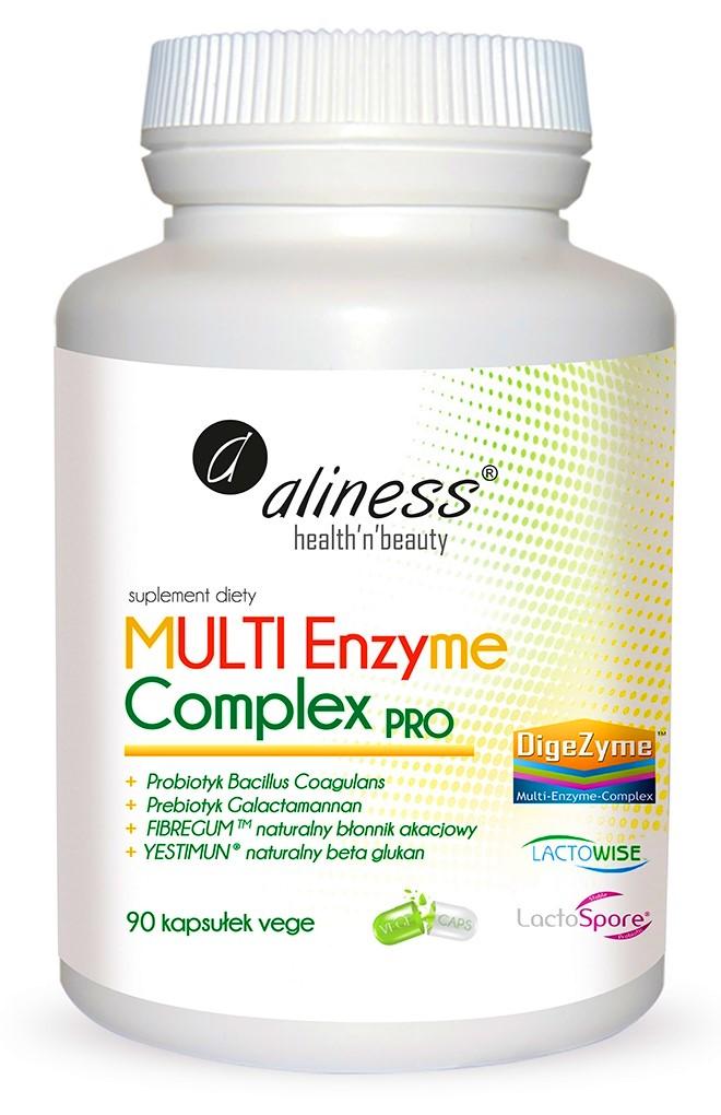 ALINESS Enzymy Trawienne Multi Complex PRO 90kap