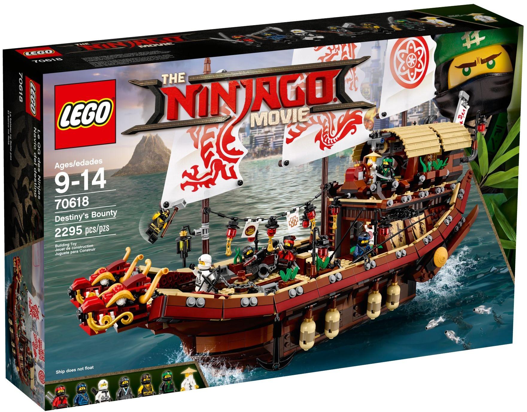Lego Ninjago 70618 Perła Przeznaczena Statek Okręt 7139443656