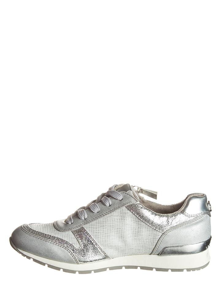 6cbc2d0c3b5 TOM TAILOR srebrne SNEAKERSY TRAMPKI Roz.39 j.NOWE - 7137880122 ...