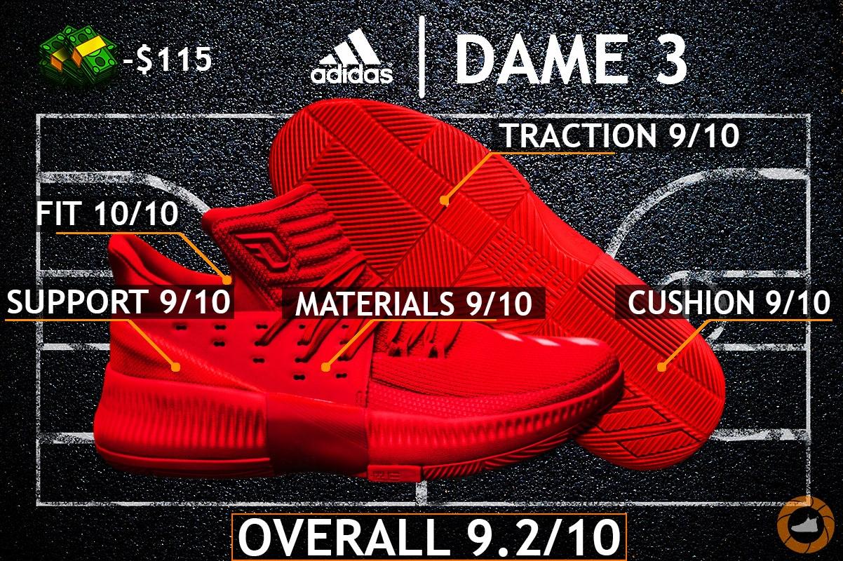 low priced 1d1fb 0e67c Adidas Dame 3 Roots buty koszykarskie męskie - 40 (7229684200)