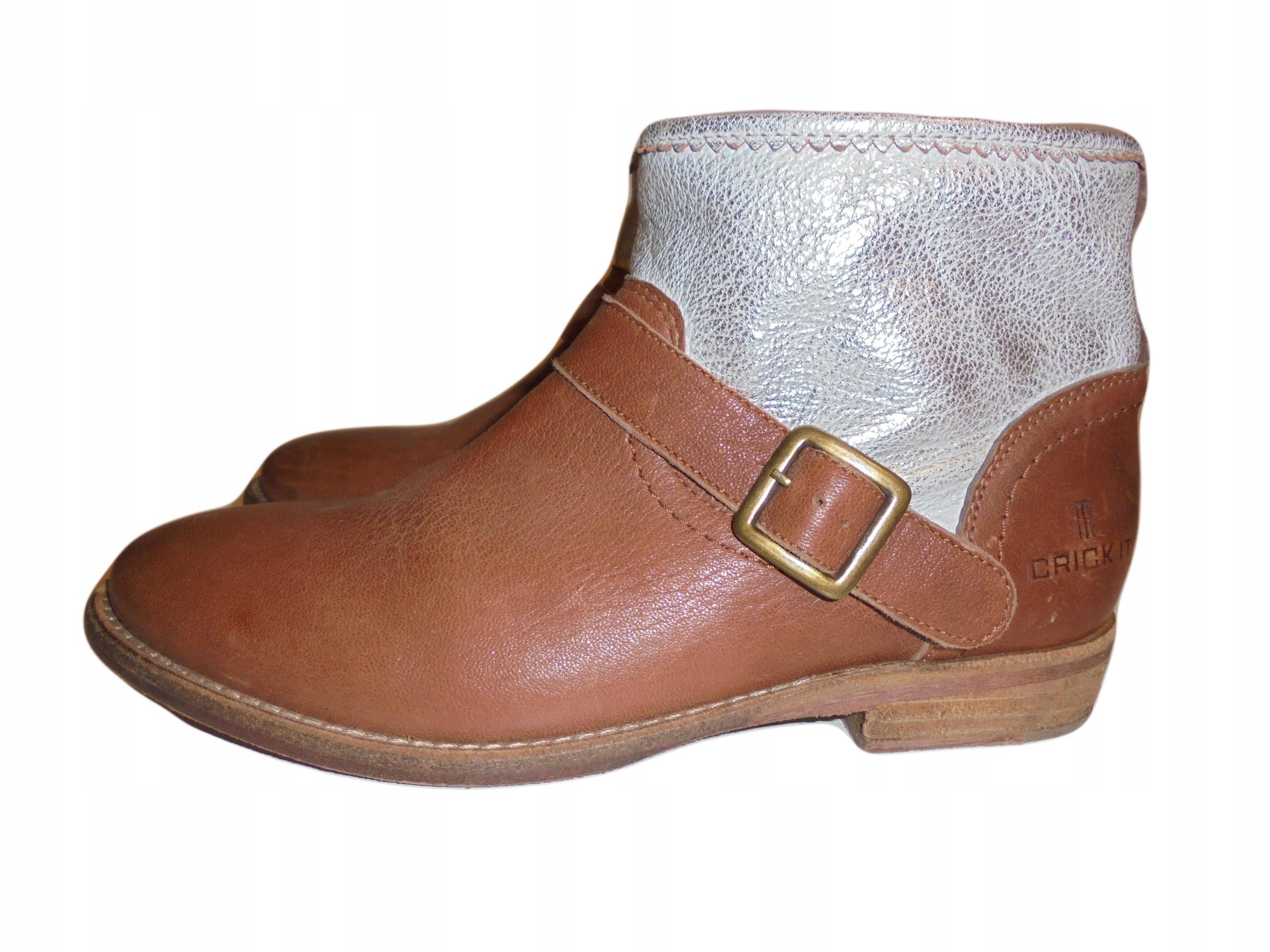 Skórzane buty Timberland. Stan idealny. Rozmiar 38