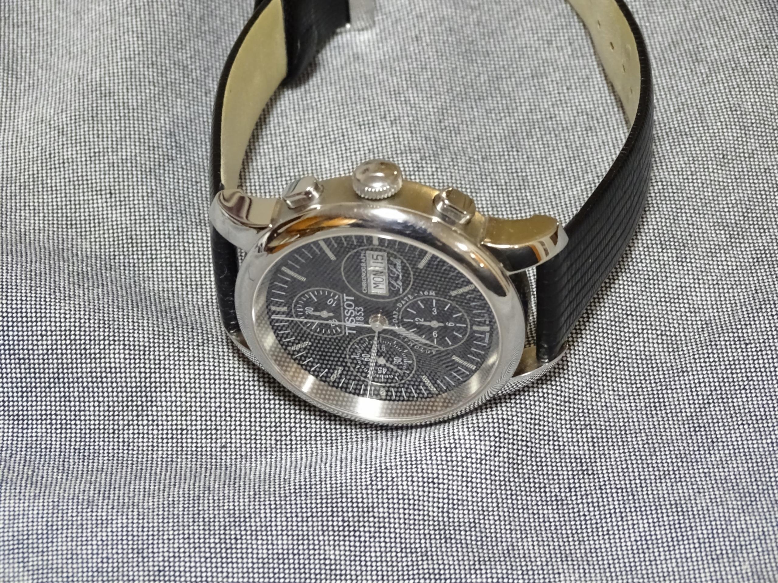 tissot chronograph - valjoux 7750 na gwarancji!!!