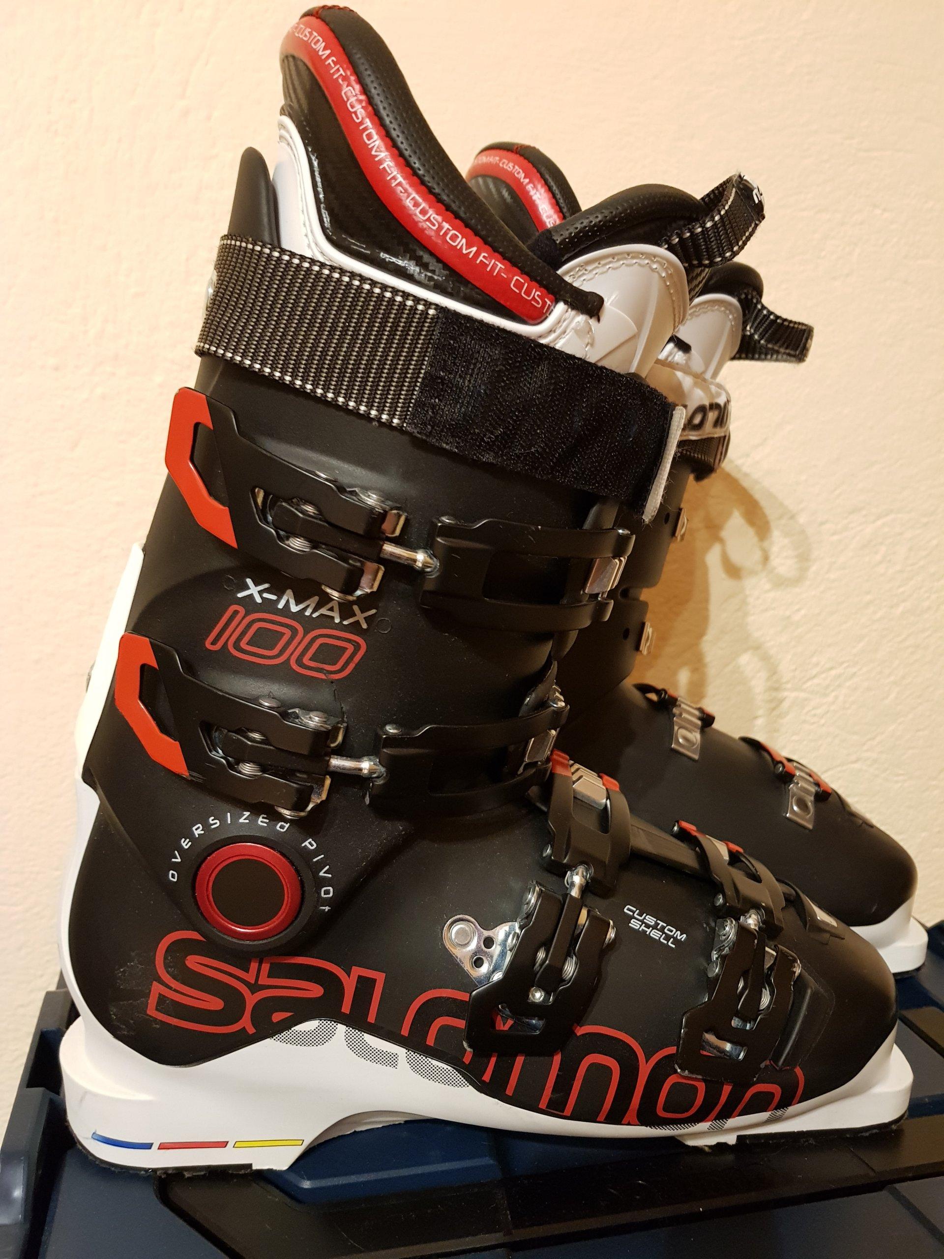 38568592165c Buty narciarskie SALOMON X MAX 100 black whi. 27