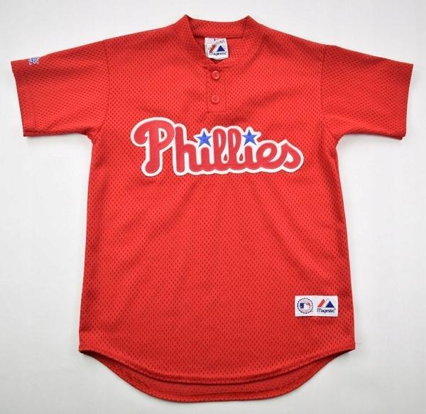 PHILADELPHIA PHILLIES MLB MAJESTIC KOSZULKA M.BOYS
